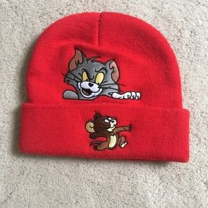 b129c0fc472 Supreme Accessories - Supreme fw16 Tom and jerry beanie